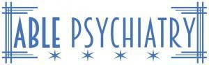 Able Psychiatry TMS Clinic Logo